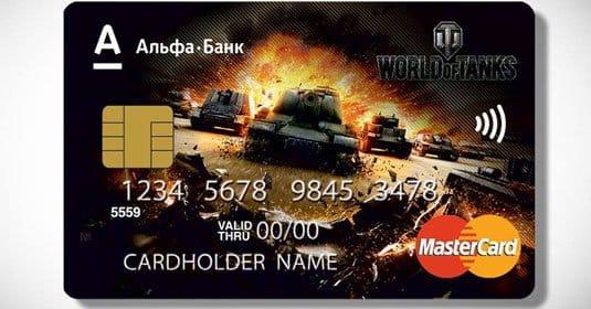 Уникальное предложение от Wargaming и «Альфа-Банка»: карта World of Tanks