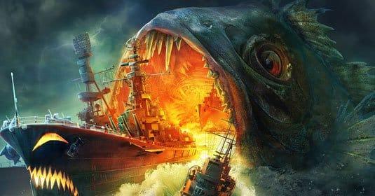 World of Warships — обои на рабочий стол Halloween