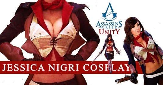 Джессика Нигри — косплей на Assassin s Creed