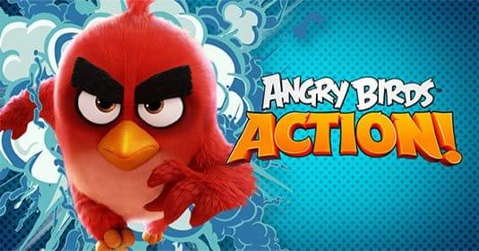 Rovio выпустила новую игру Angry Birds Action!
