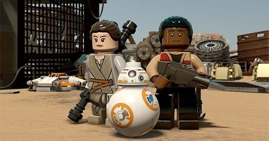 Демонстрация геймплея в LEGO Star Wars: The Force Awakens