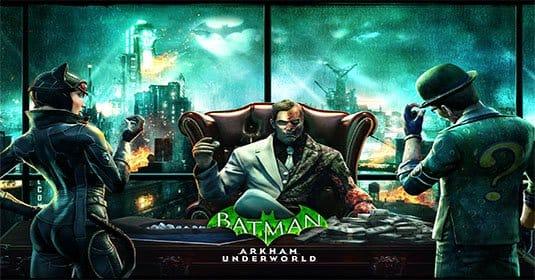 Batman: Arkham Underworld — известные злодеи Готэма бросают вызов Clash of Clans