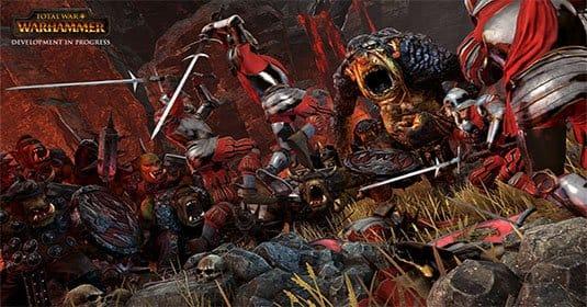 Опубликован трейлер кровавого дополнения к Total War: Warhammer