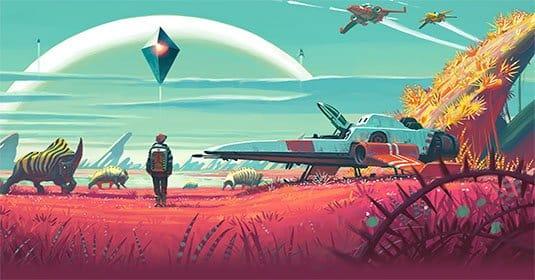 Опубликован новый трейлер No Man's Sky с новым фрагментом геймплея