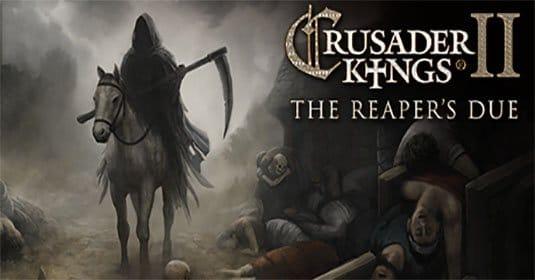 Анонсировано дополнение Crusader Kings II: The Reaper's Due