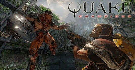 Quake Champions — первый трейлер с фрагментами геймплея