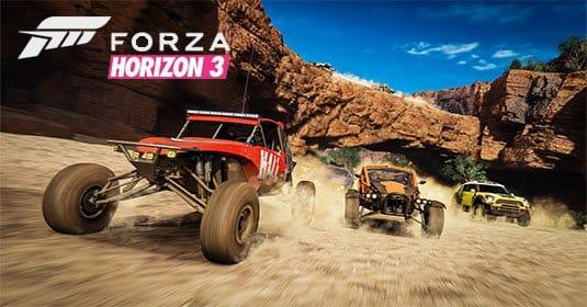 Опубликован новый трейлер Forza Horizon 3 в формате 4K