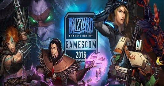 Blizzard приглашает на Gamescom и обещает рекордное число развлечений