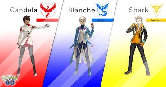 Pokemon GO — очередной патч добавляет систему анализа для лидеров фракций