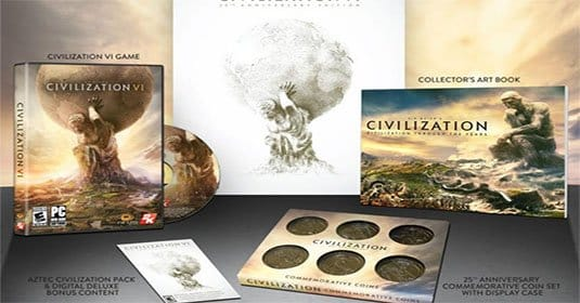 Анонсирована Sid Meier's Civilization VI: 25th Anniversary Edition