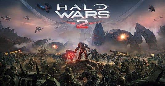 Фрагмент первой миссии из Halo Wars 2