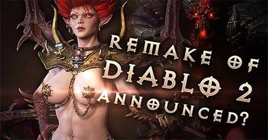 Diablo II HD будет анонсирован на BlizzCon?