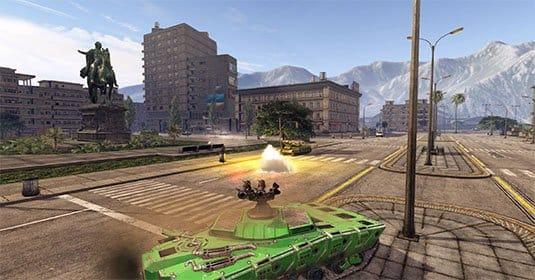 Infinite Tanks — новый потрясающий трейлер танкового шутера
