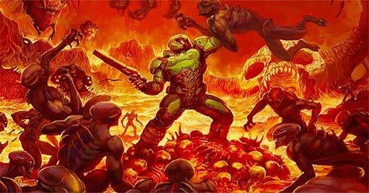 DOOM получил бесплатное обновление и режим Deathmatch