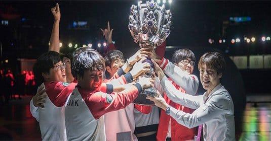 SK Telecom 1 в третий раз стали чемпионами мира по League of Legends