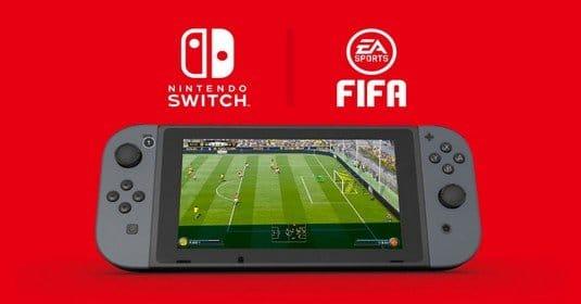 Nintendo Switch получит специальную версию FIFA 18