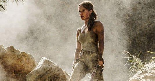 Алисия Викандер на официальных снимках со съемок Tomb Raider