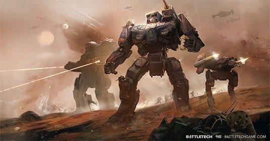 Смотрите новые скриншоты BattleTech