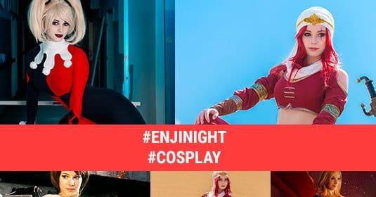 Косплеи Enji Night: обои для рабочего стола