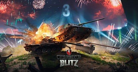 World of Tanks Blitz празднует день рождения — 3 года и множество подарков
