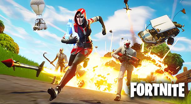 Fortnite: Магнитная буря/Королевская битва