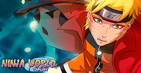 Скриншоты Ninja World Online