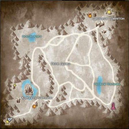 Земля на карте Кантабилан