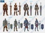 Виды воинов и оружия