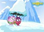 Зимнее приключение смешариков