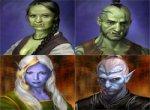 Типичные персонажи Раздора