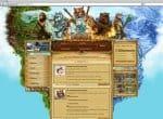 Сайт игры Hoppenia