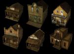 Виды зданий в игре
