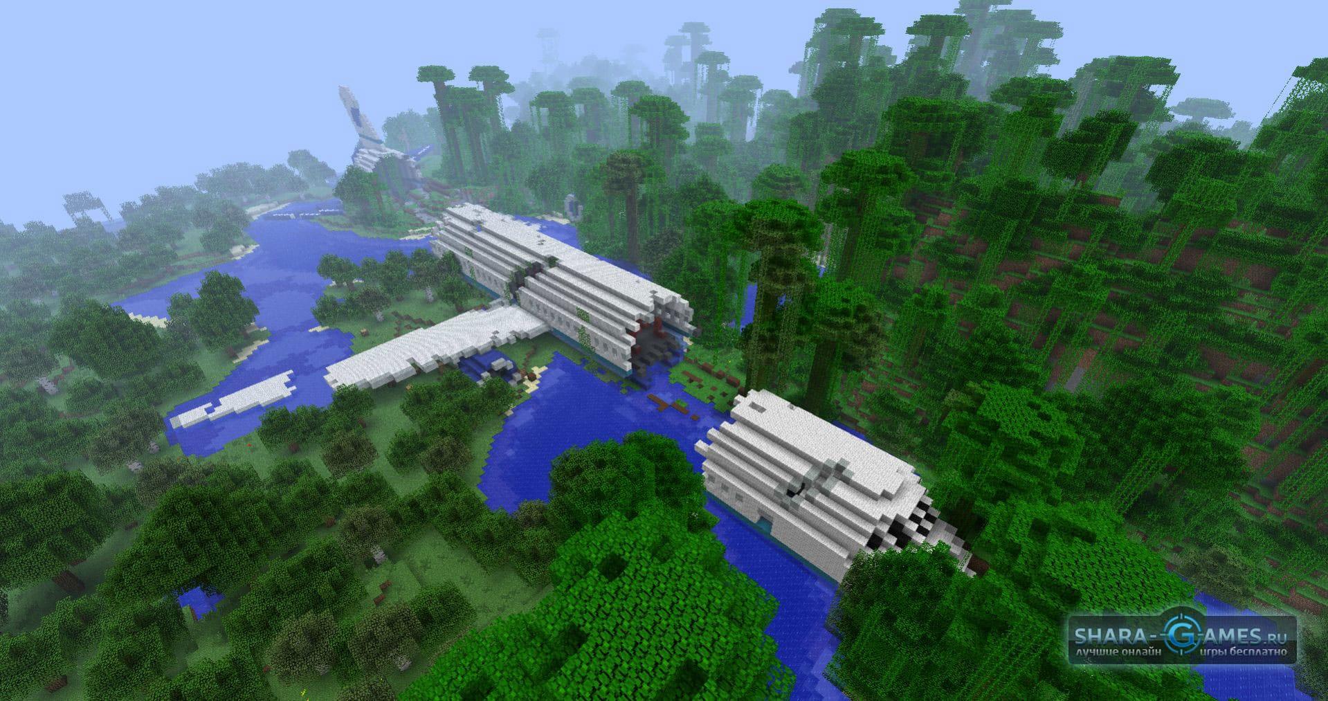 карта самолёт для minecraft #10