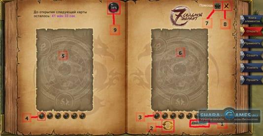 Карты и геймплей игры