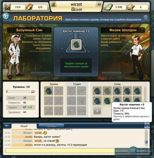 Ученые лаборатории