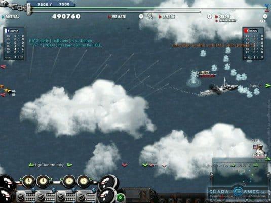 Флот в действии
