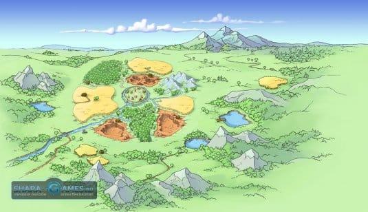 Игра Травиан — деревня