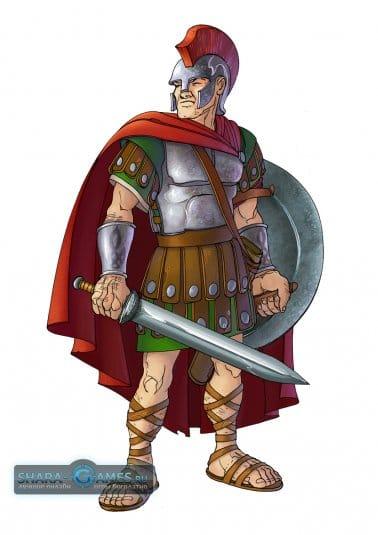 Римлянин-преторианец в Travian