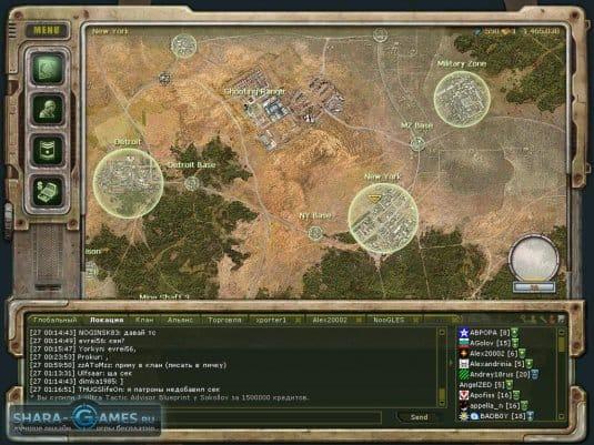 Общая карта игры