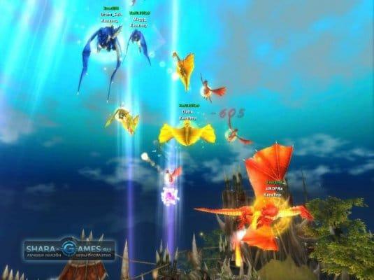 В Повелители Драконов играть — участие в воздушных битвах принимать