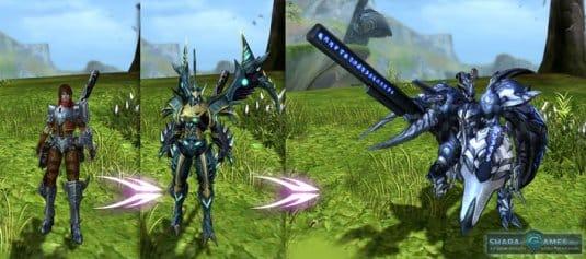 Человек в игре Dragona online