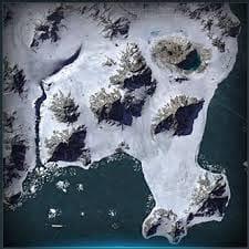 Карта  World of Warplanes Арктика