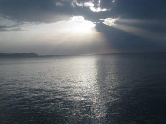Локация Тихий океан