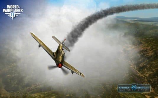Игровой процесс World of Warplanes. Скриншот