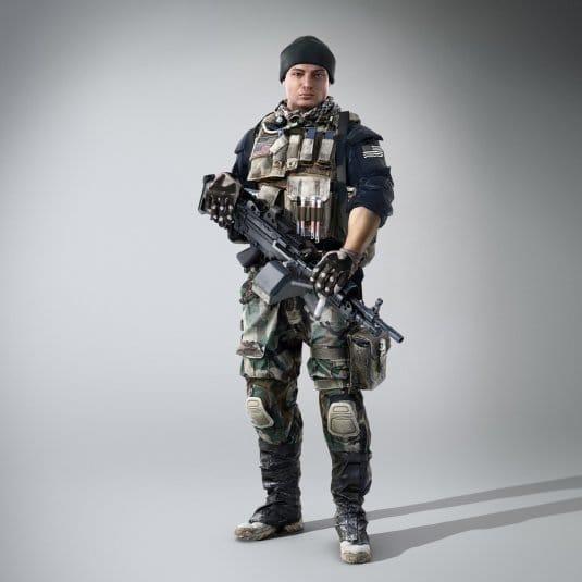 Еще один солдат из Battlefield 4
