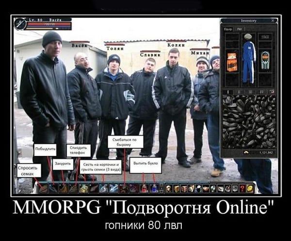 ММОРПГ «Подворотня Онлайн»