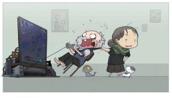 Старый геймер