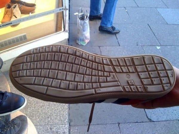 Подошва-клавиатура