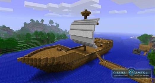 Скачать мод майнкрафт на корабли