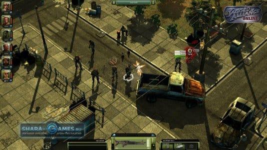 Перестрелка на улицах города